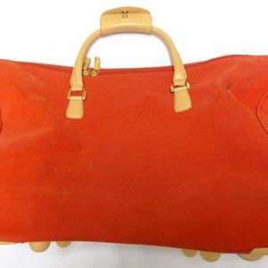 DVF Travel Bag Faux Suede